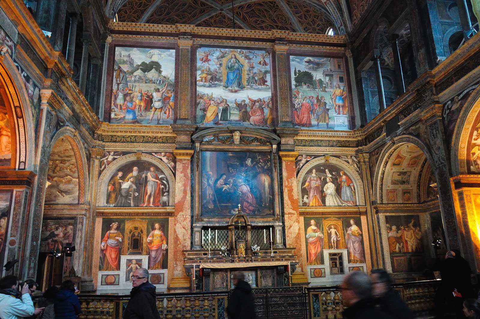 chiesa di san maurizio - chiese milano - milano turismo - in-lombardia