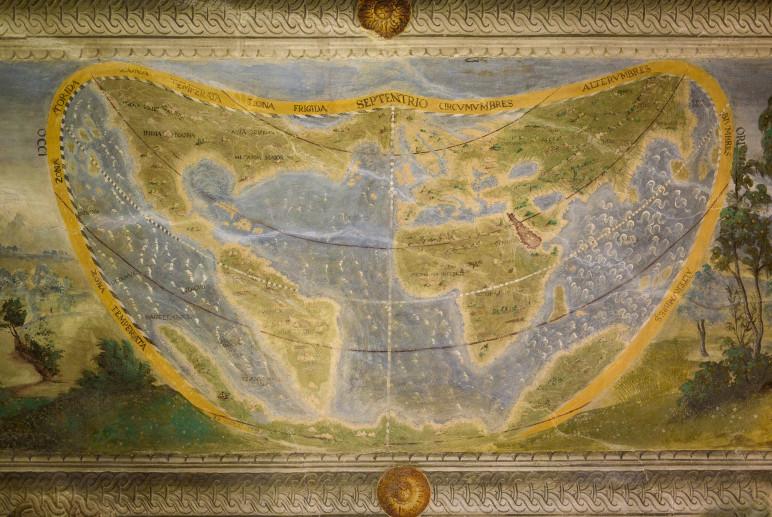 La mappa di Palazzo Besta