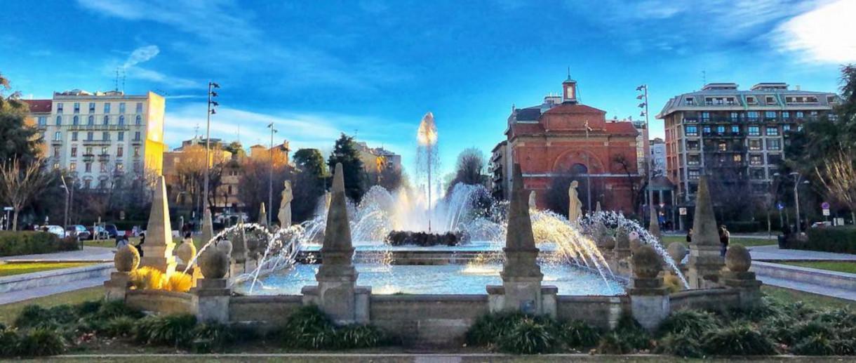 La fontana delle Quattro Stagioni