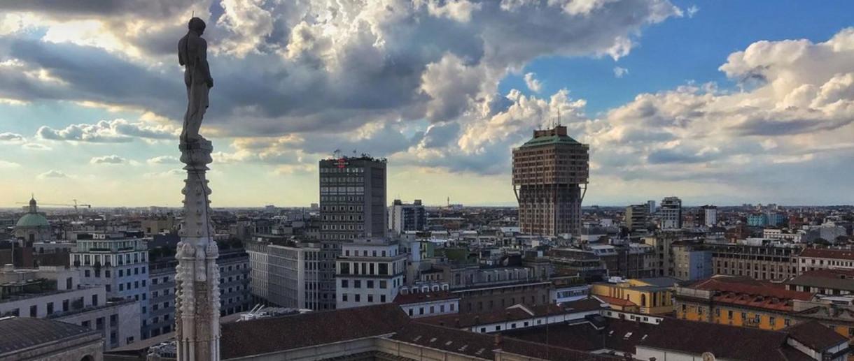 La torre Velasca: uno dei simboli storici di Milano