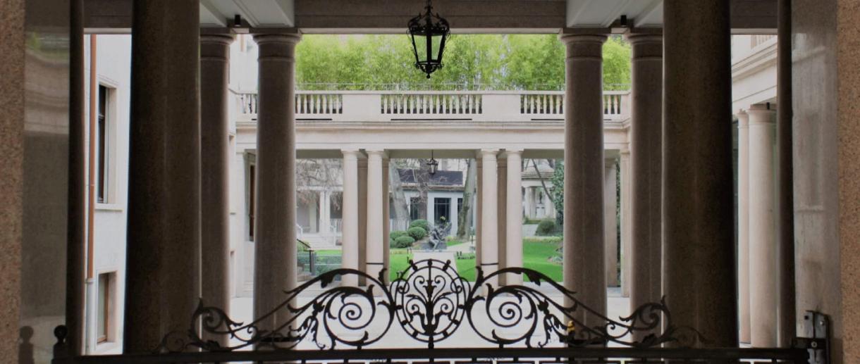 Giardino della Biblioteca di Via Senato - ph: Biblioteca di Via Senato