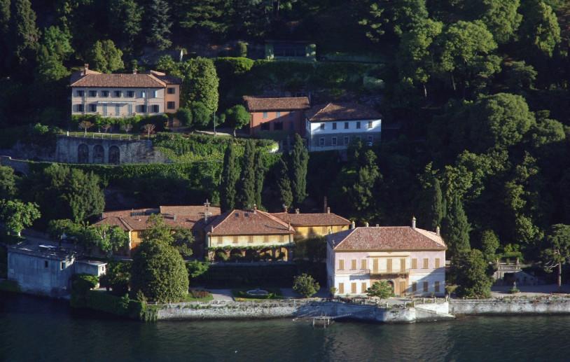 Villa Pizzo e la Madonna del Lago