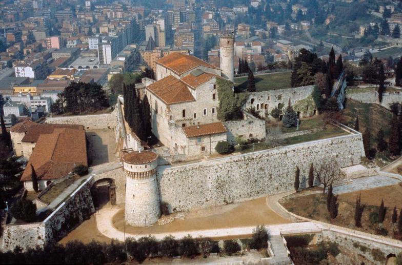 Le château de Brescia