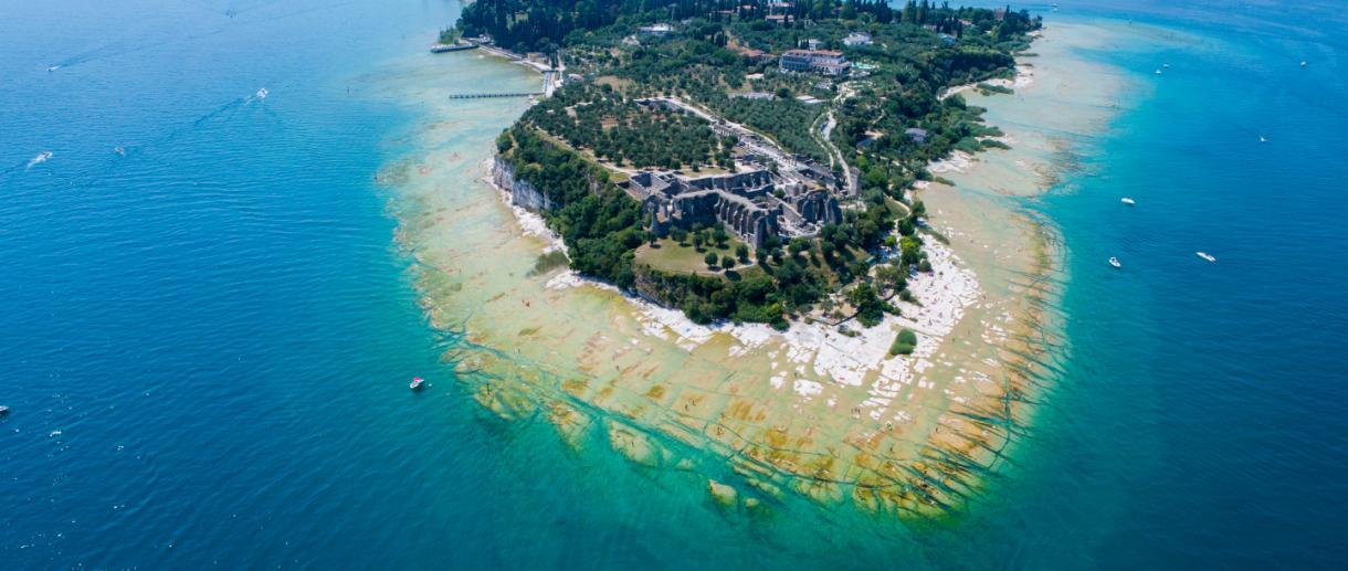 Grotte di Catullo Lago di Garda