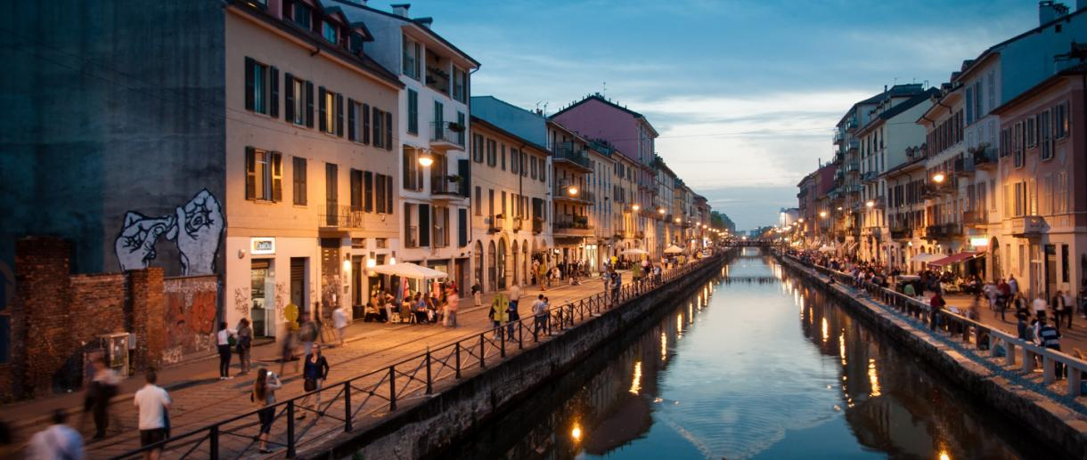 Milán, Zona Navigli