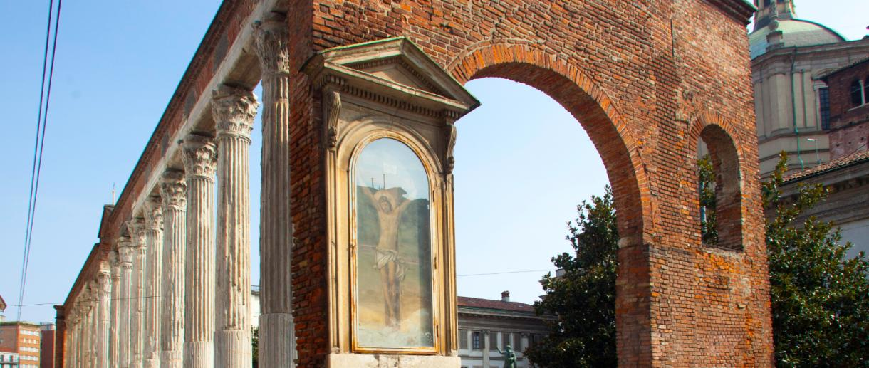 Ticinese columns of San Lorenzo