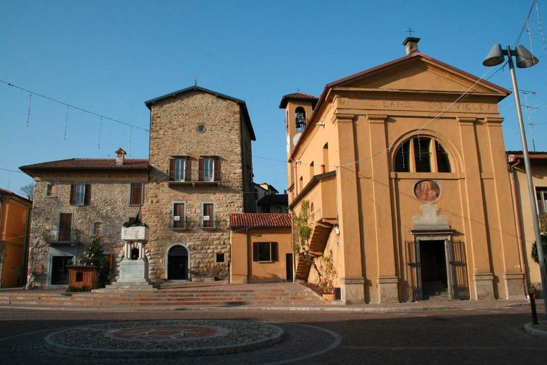 Church of San Paolo in Imbersago