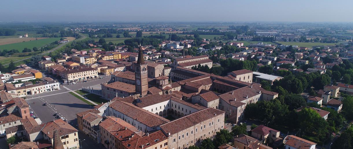 Vista di San Benedetto Po (MN)