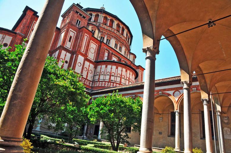 Santa Maria delle Grazie, inspiring churches in Lombardy