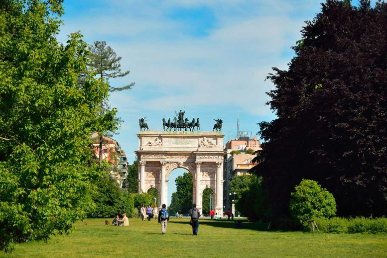 Arco della Pace, the Arch of Peace