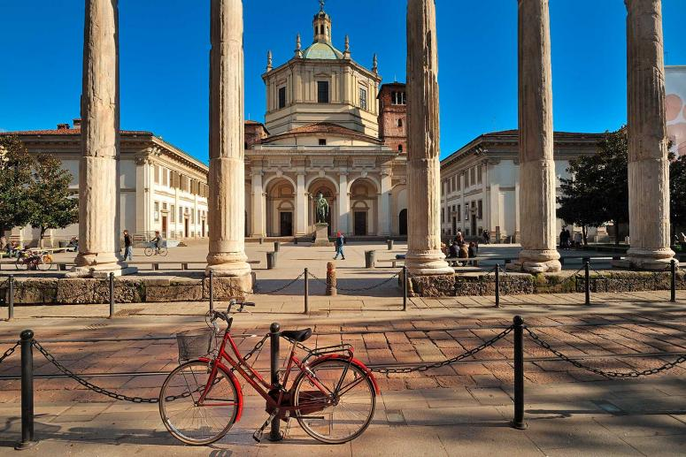 Colonne di San Lorenzo, Monumenti Milano