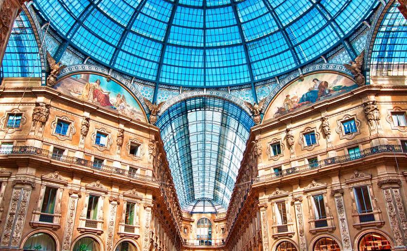 Vittorio Emanuele Gallery, inspiring monuments