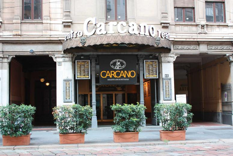 Teatro Carcano, Teatri Milano