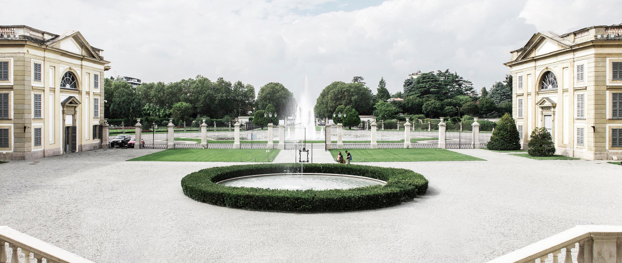 Royal gardens of monza