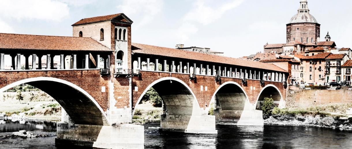 Pont couvert de Pavie