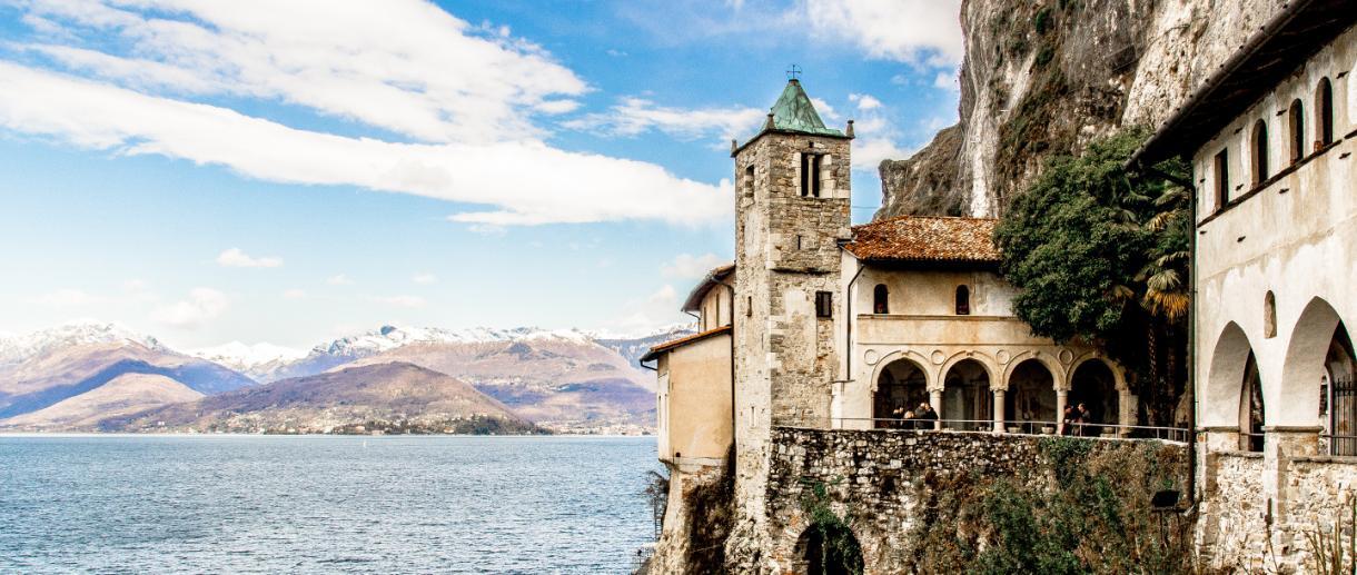Kloster von Santa Caterina del Sasso
