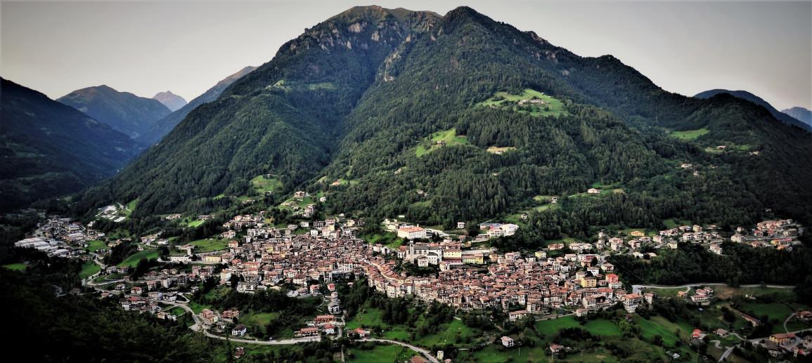 Vista panoramica di Bagolino