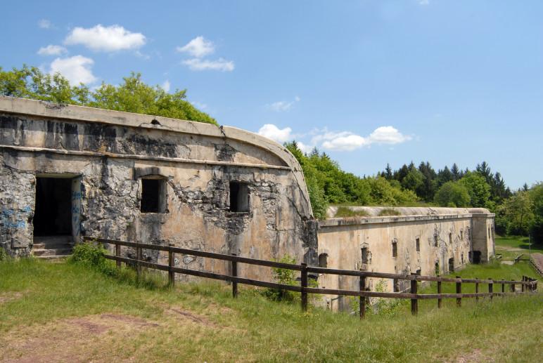 Forte di Valledrane prima tappa alta via dei forti