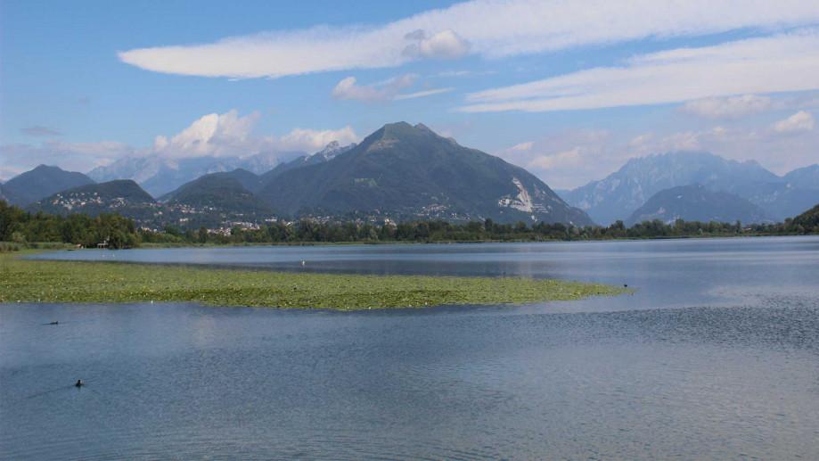 lago alserio montagne