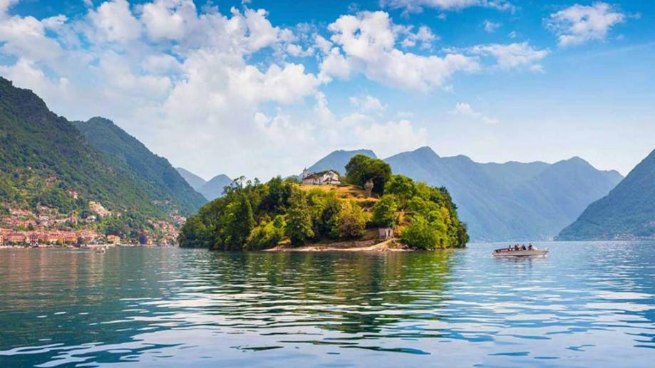 isola comacina lake como ossuccio