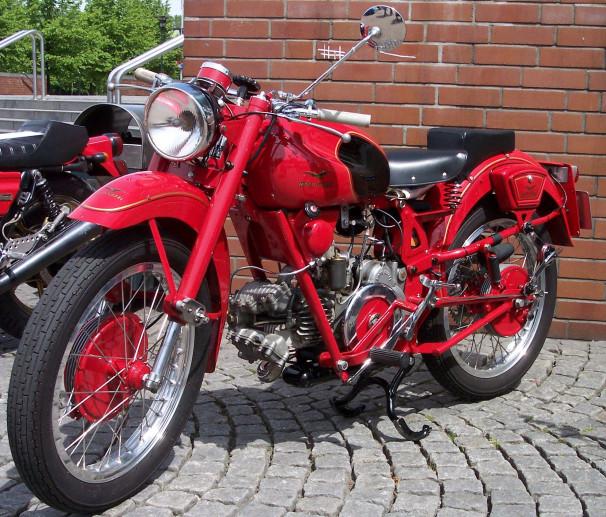 Museo delle moto d'epoca - Moto Guzzi