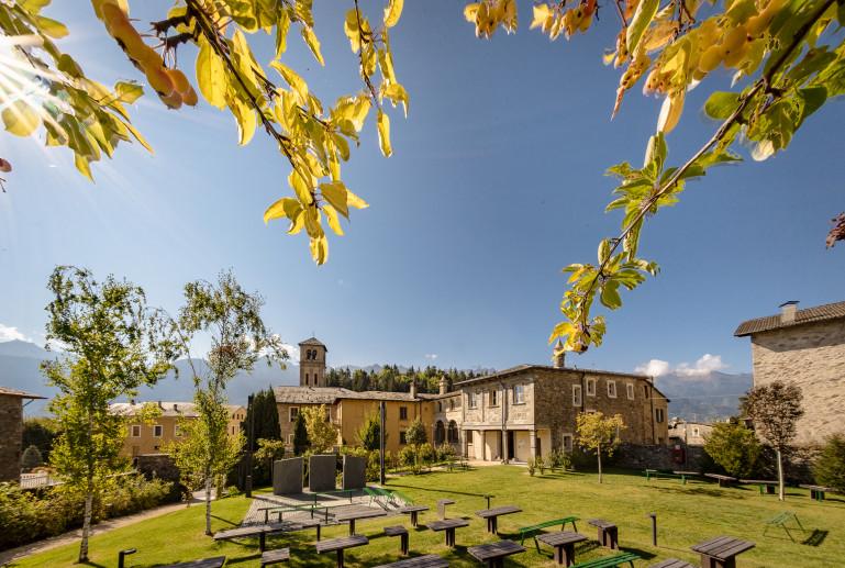 Giardino e palazzo Piatti-Reghenzani