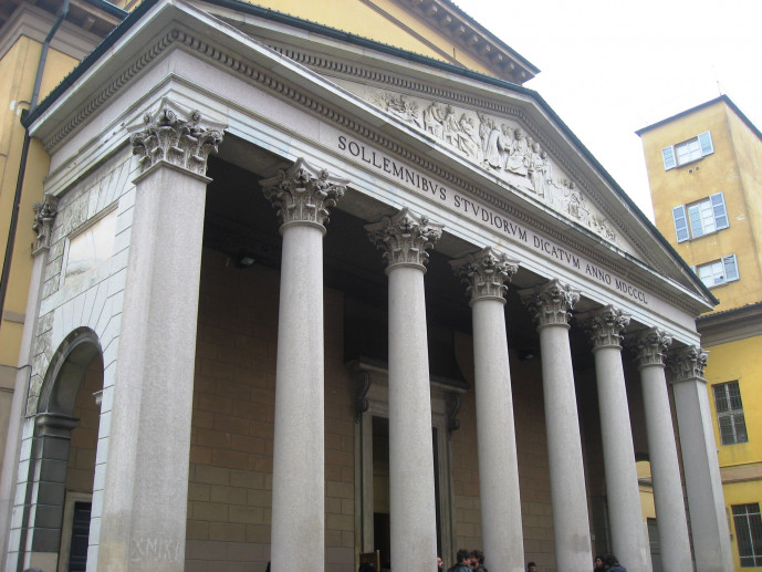 Aula Magna dell'Univeristà di Pavia
