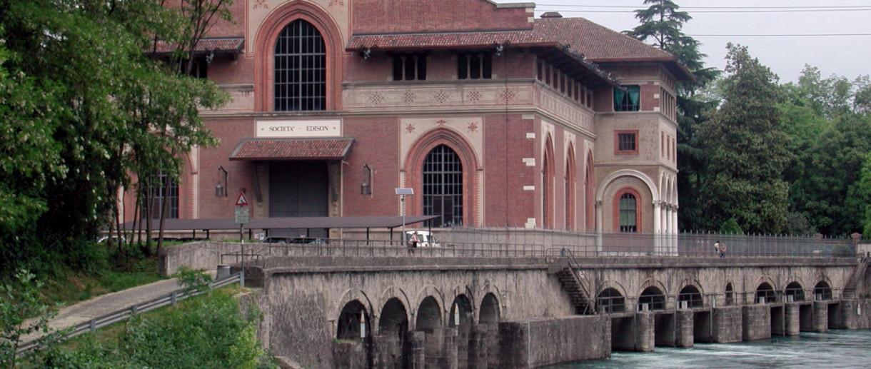 Cornate d'Adda, Centrale idroelettrica Esterle