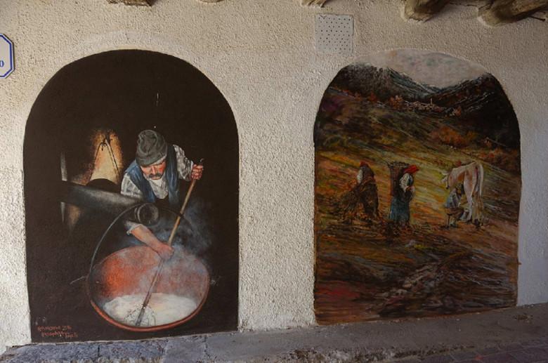 Belprato, paese dalle case dipinte