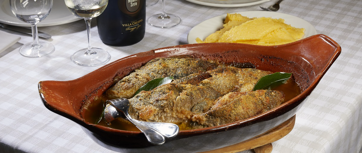 Tinca al forno - Bresciatourism.it