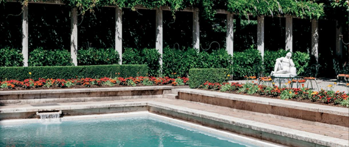 Villa Necchi Garden