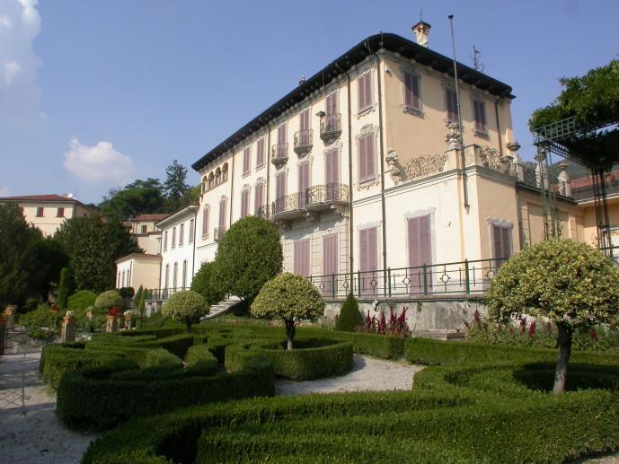 I giardini all'italiana di Villa Bertarelli