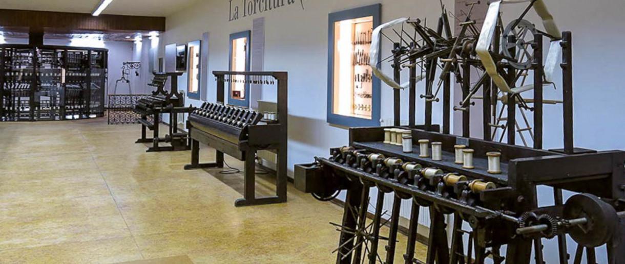 Il museo della seta Abegg