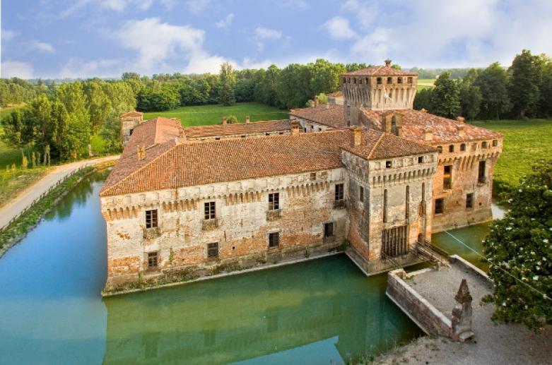 Castillo de Padernello, castillos en Brescia