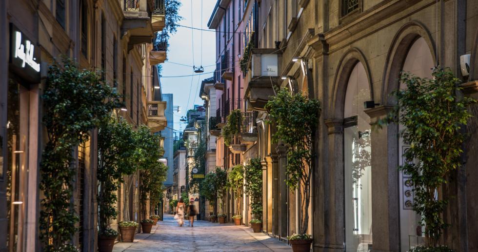 Milano, Quadrilatero della Moda