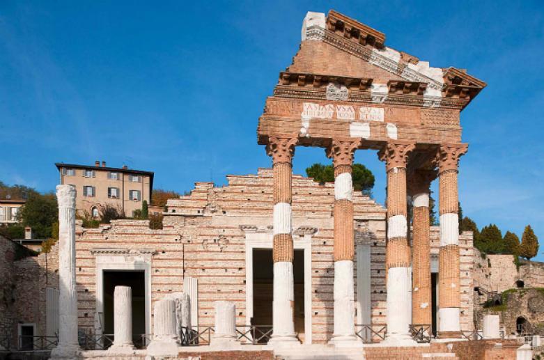 Komplex San Salvatore - Santa Giulia und Kapitolinischer Tempel