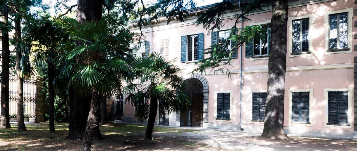 Esterno Villa Manzoni a Lecco