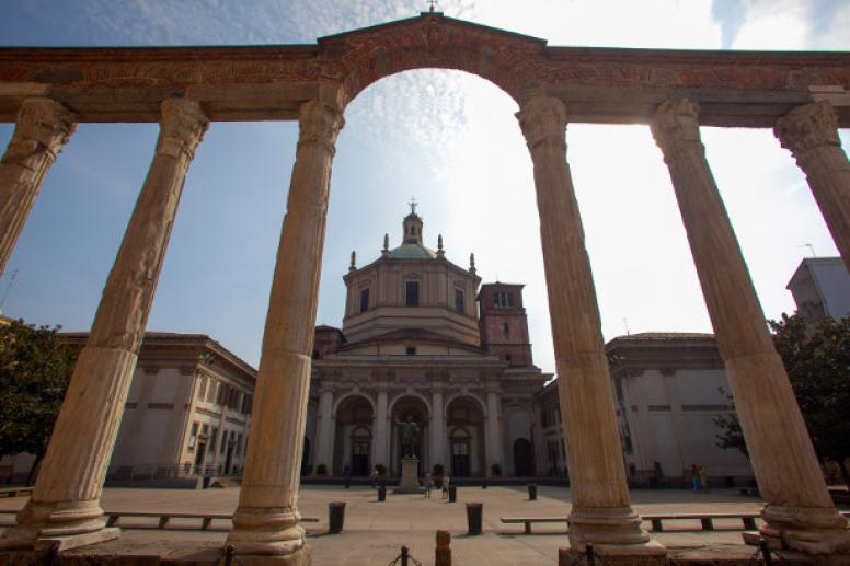 Basilica di San Lorenzo, Chiese a Milano