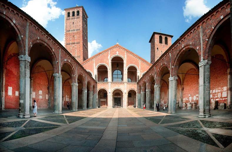 Basilica di Sant'Ambrogio, Chiese Milano