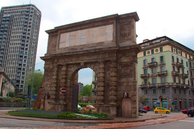 Porta Romana, Monumenti Milano