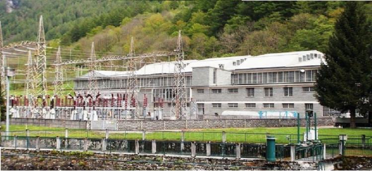 L'energia della centrale
