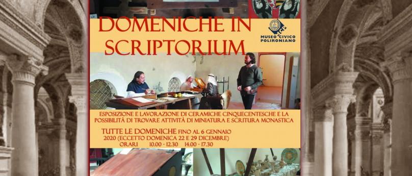 Le Domeniche in Scriptorium