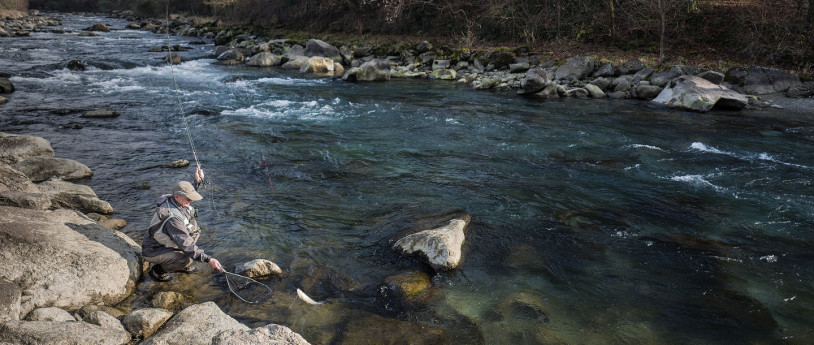 Fly Fishing in Lombardia