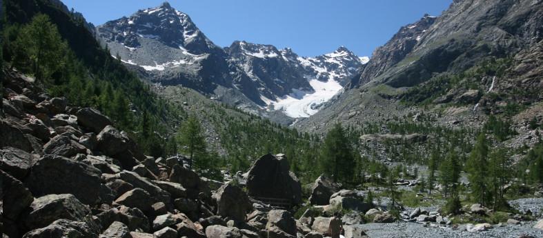 Vittorio Sella glacier trail