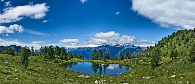 MTB-Alpe Campelli di Albosaggia, Lago Casera