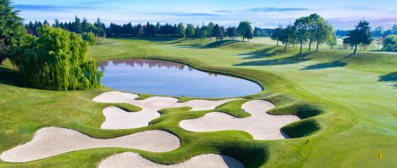 Lago Mayor, paraíso para golfistas