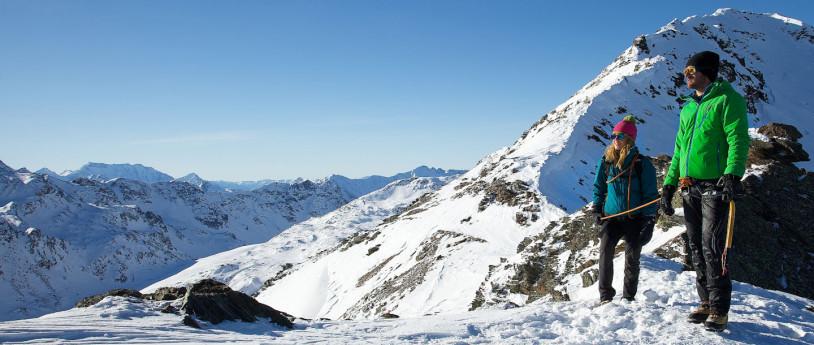 Escursionismo sulla neve a Bormio