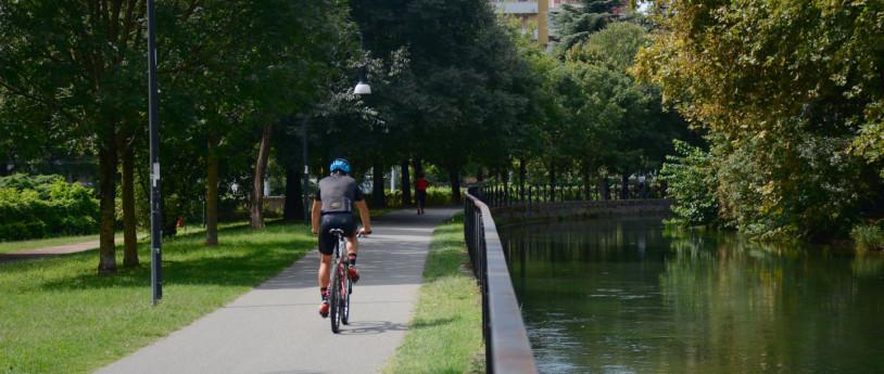 In bici a Cernusco sul Naviglio