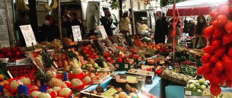 Street market a Milano