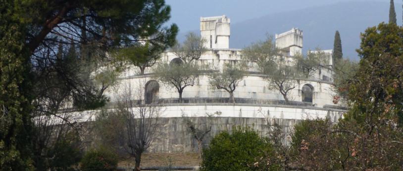 Due giardini per due artisti a Gardone Riviera - Vittoriale degli Italiani